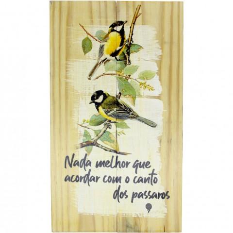 Quadro - Canto dos Pássaros